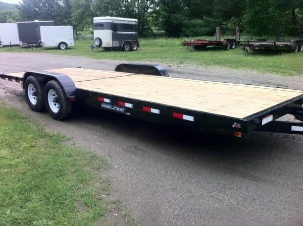 my empty tiny house trailer frame