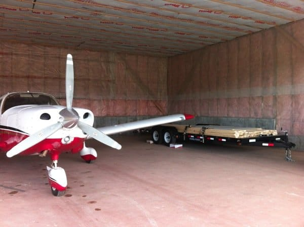 Video Update: Trailer Moved to Hangar