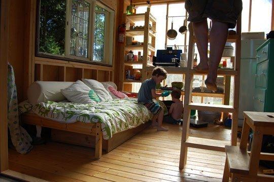 build a tiny house cheap interior cabin