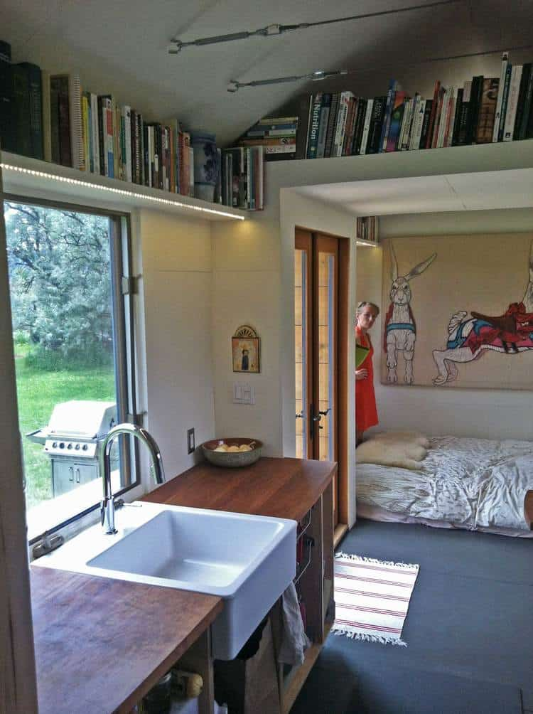 How To Have Stairs Instead Of A Ladder In Your Tiny House