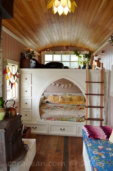Bed Under a Loft