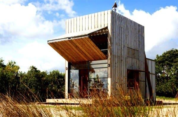 moveable beach house on skids
