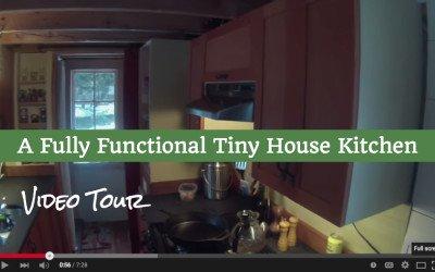 Tiny House Kitchen Video Tour
