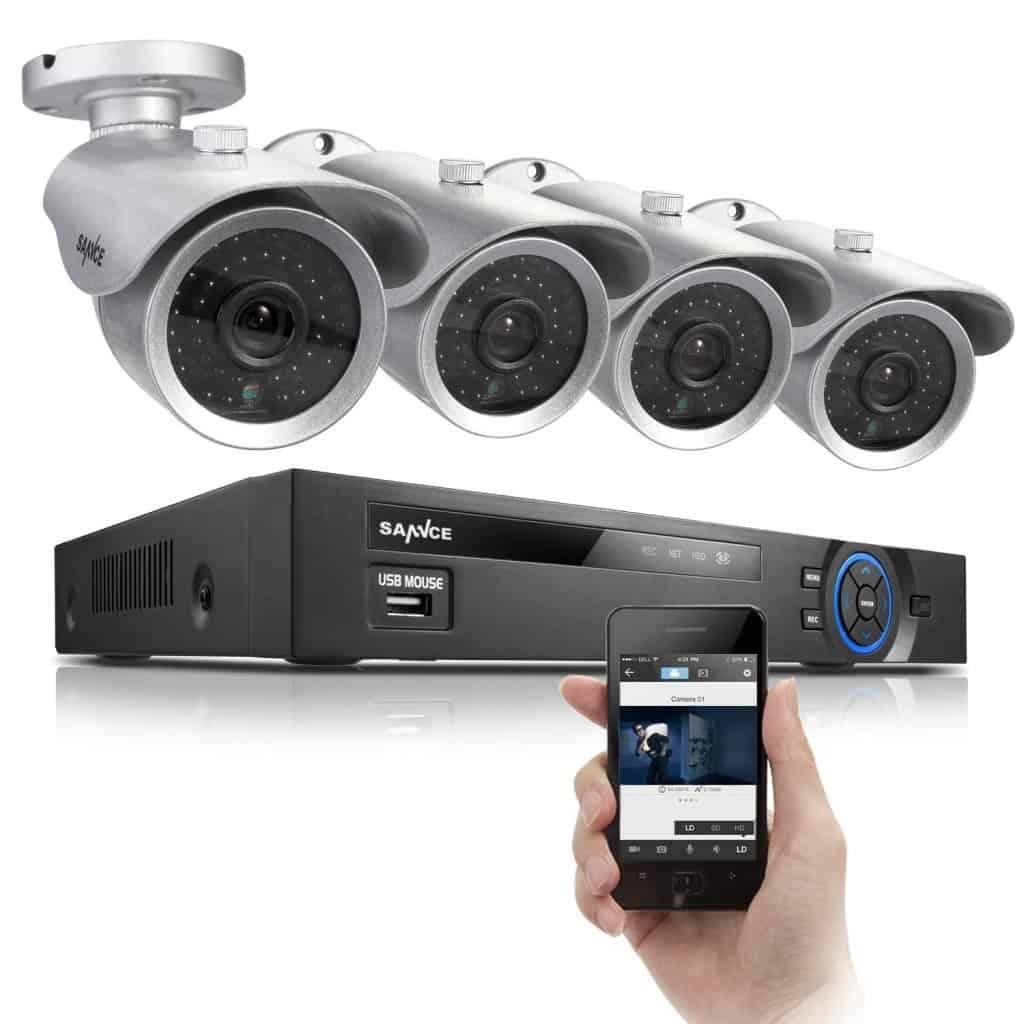 Tiny house security camera