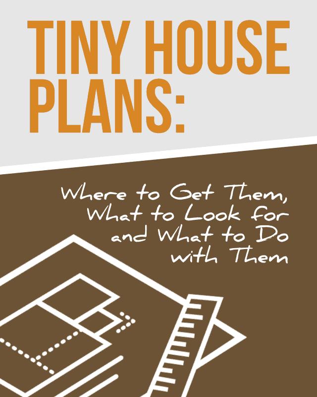 Tiny House Plans - Pinterest