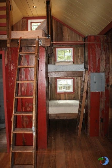 Bunk Bed Ideas For Tiny Houses For Tiny House Families