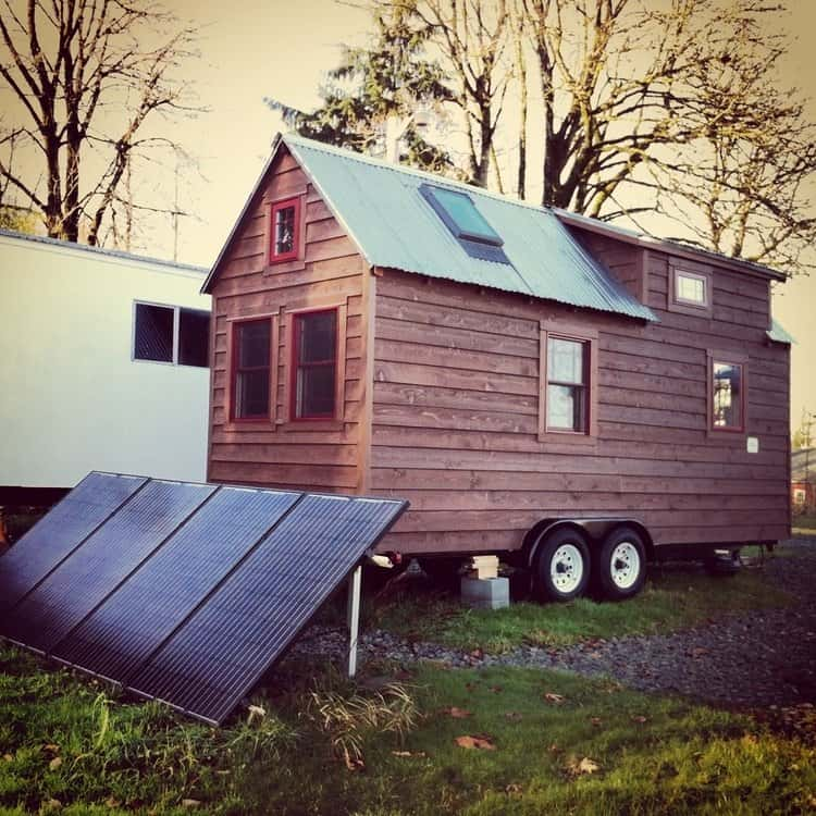 Solar Panels Tiny House