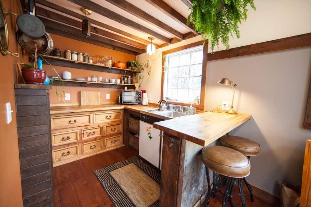 Tiny House Kitchen Dresser Cabinets