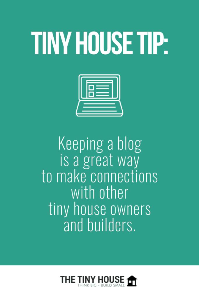 Tiny house blogging