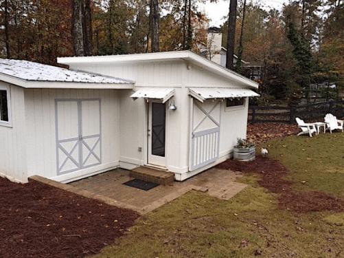 Tiny house shed villa
