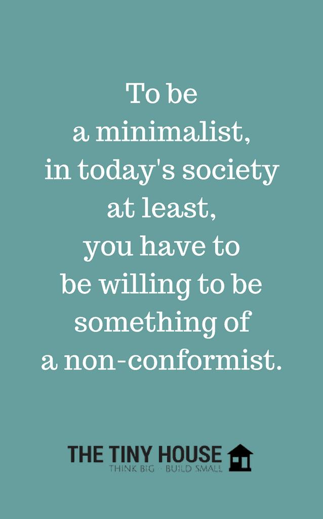 Downsize to be a minimalist