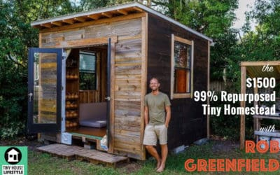 The 99% Repurposed Tiny Homestead in Orlando: Extreme Lifestyle Design with Rob Greenfield – #038