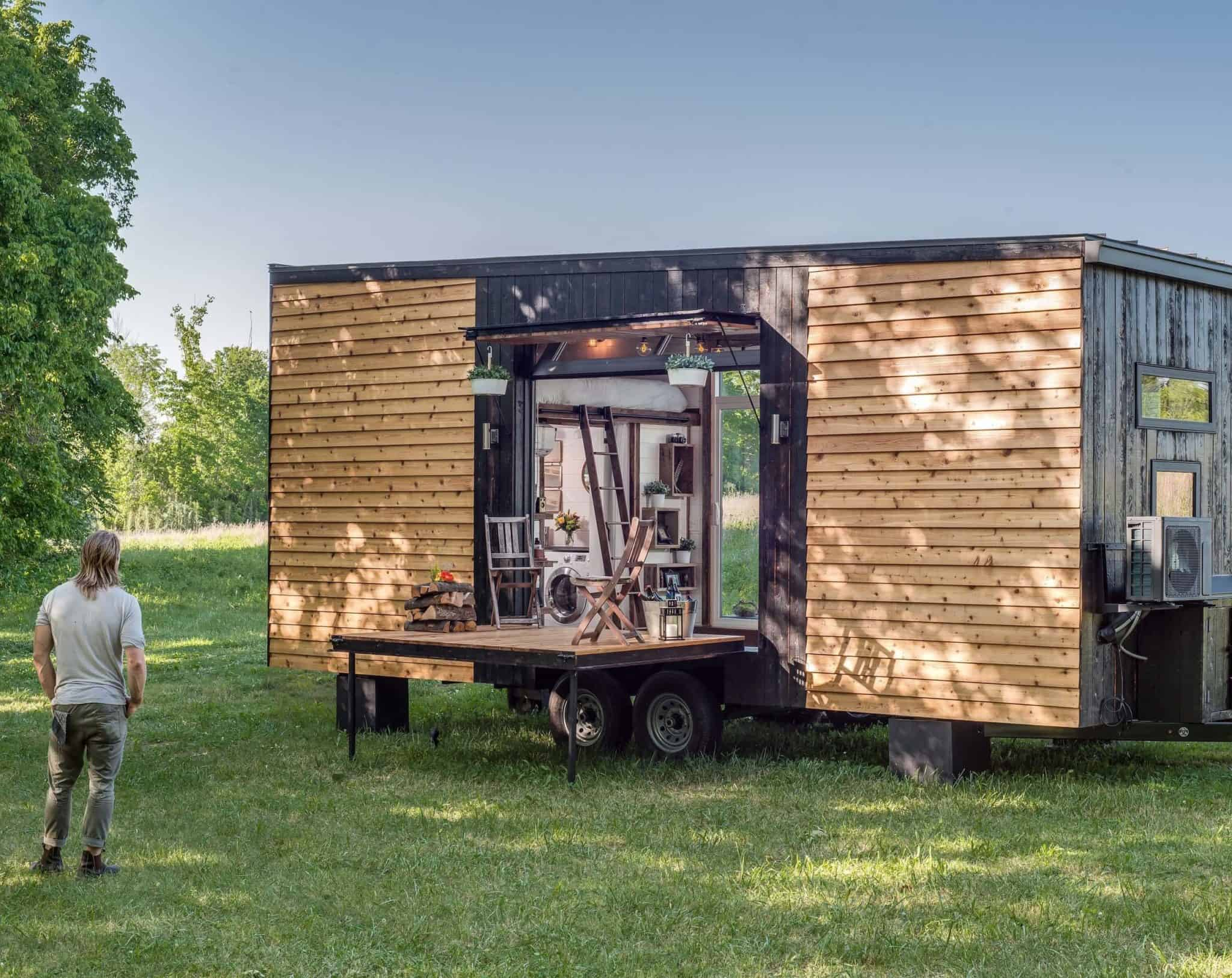 """Tiny Home Designs: """"Sexy And Intentional"""": How To Design And Build High End"""