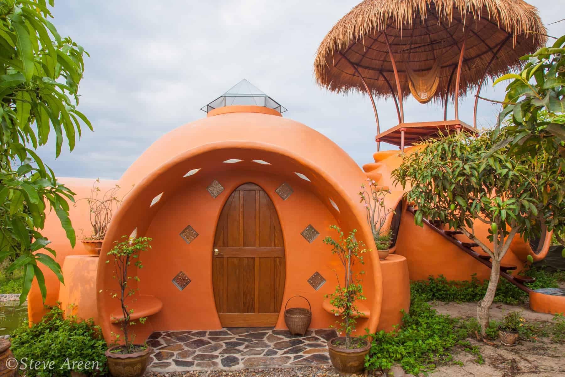 Steve Areen's Dome Home