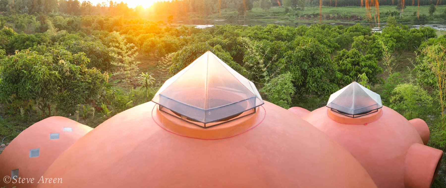 Aircrete Dome Skylight