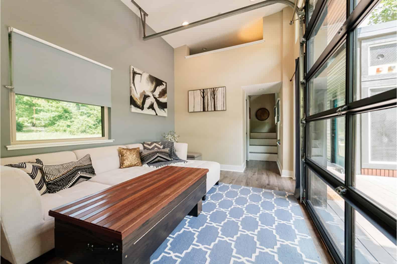 asha mevlana tiny house living room