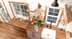 Liberation Kitchen bird's eye view