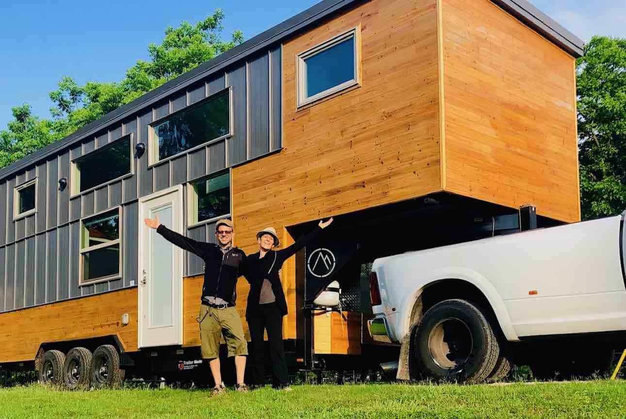 Lindsay Wood tiny house