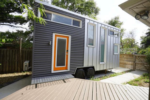 The Urban Crash Tiny House