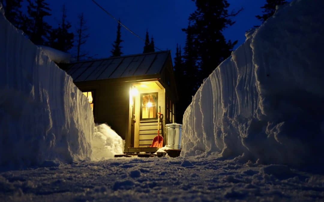 How to Stay Warm and Toasty in an Off-Grid Tiny Home When You Live in a Cold Climate