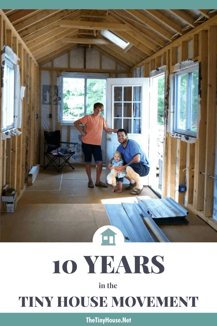 10 Years in the Tiny House Movement