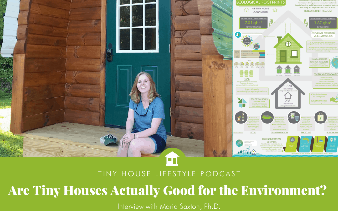 Are Tiny Houses Actually Good for the Environment? Maria Saxton, Ph.D. Has an Answer – #092