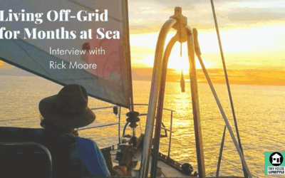 Living Off-Grid for Months at Sea: Hydroponics, Solar, Wind, and Gardening on a Sailboat with Rick Moore – #138